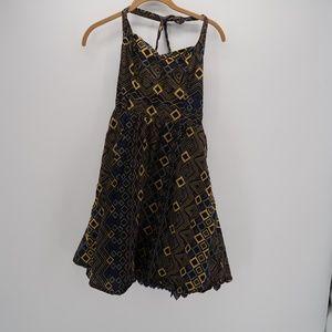 Anthropologie Edme & Esyllte Primula Halter Dress